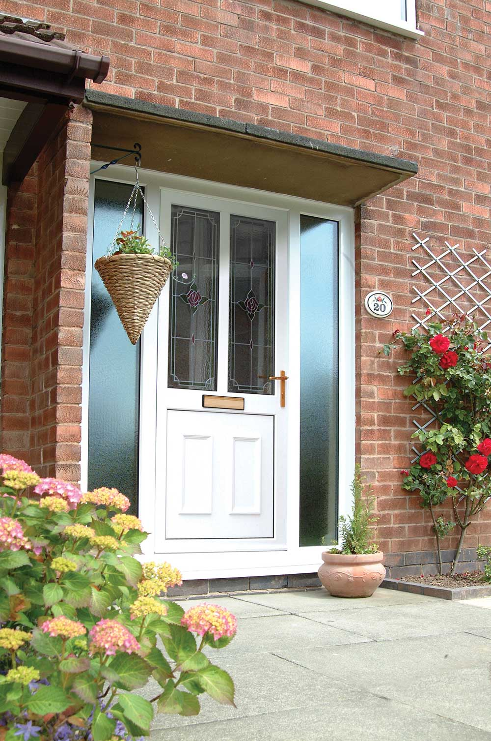 White uPVC Front Doors Buckinghamshire