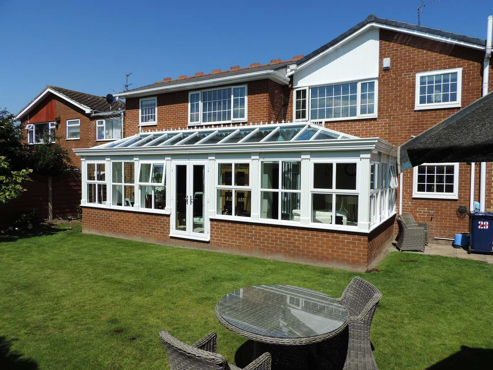 Glass Conservatory Roofs Milton Keynes