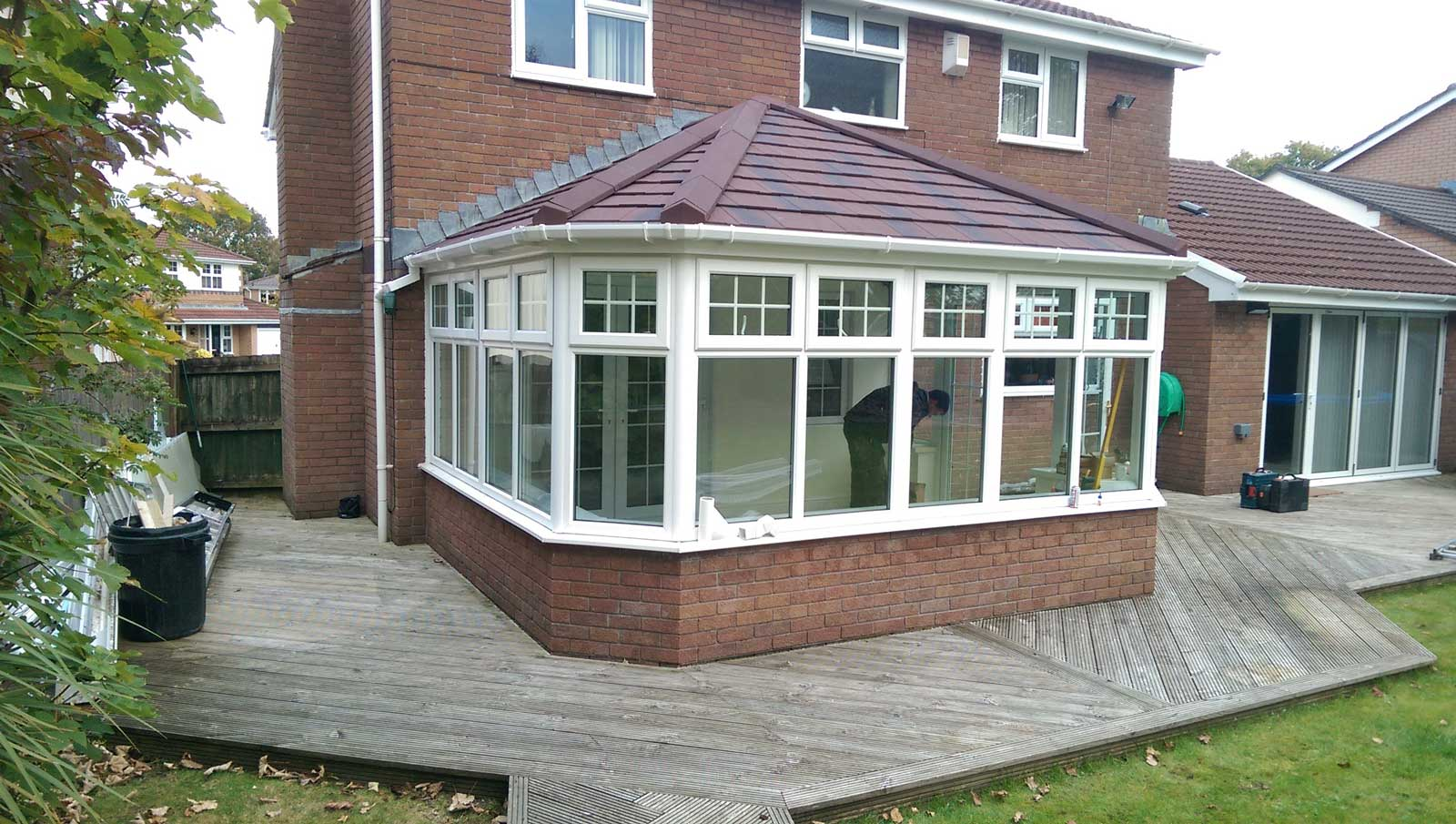 Tiled Conservatory Roofs Buckinghamshire