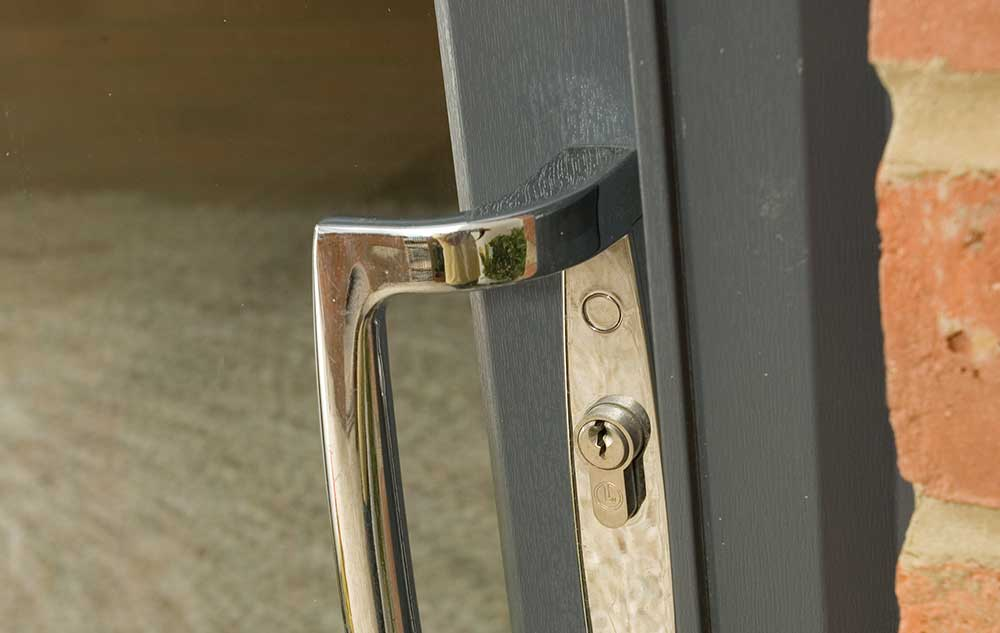 Secure patio doors